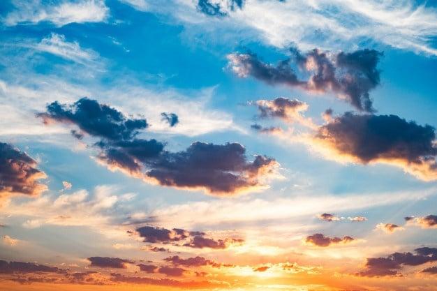 Tarde Verano Hermosa Puesta Sol Naranja 143092 869